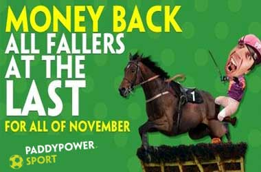 Paddy Power Betting Sites November Money Back Promotion