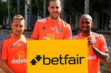 Betfair Signs Deal With Sunderland AFC