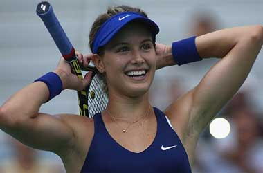 Bouchard Wins 1st Match Despite Injury at Roland Garros