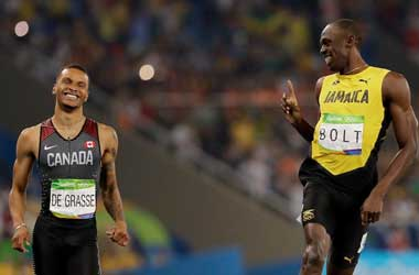 De Grasse's Coach Accuses Bolt Of 'Booting' The Competition