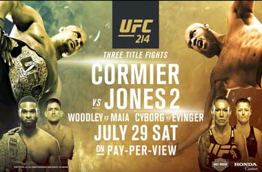 UFC 214 Not To Be Missed As Three Title Fights Will Be On The Line