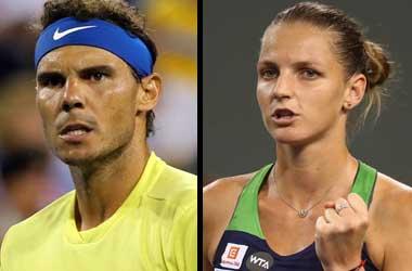 Rafael Nadal & Karolina Pliskova Favorites To Win The 2017 U.S Open