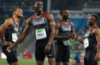 Canadian Sprinters Take A Break To Help Focus On IPF Awareness