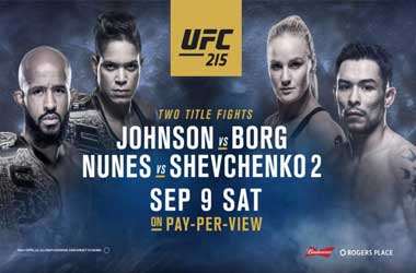 MMA Fans Make Their Way This Weekend To UFC 215, Edmonton