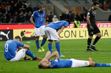 Italy Fail To Qualify For FIFA World Cup For The First Time In 60 Years
