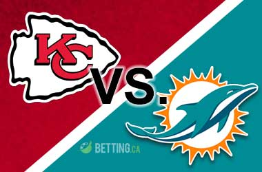 Chiefs are favored to beat the Dolphins