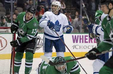 Maple Leafs win 4-1 Against The Dallas Stars