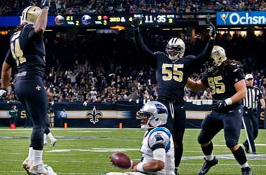 New Orleans Saints beat the Carolina Panthers 31-26 in Wild Card game