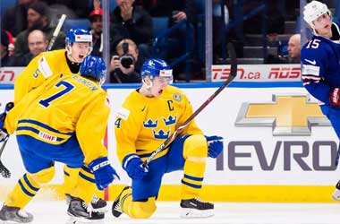 Sweden Beats the U.S.A and Heads to the World Junior Final