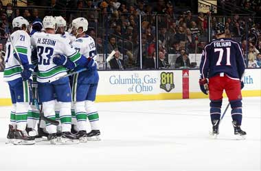 Vancouver Canucks beat the Bluejackets 5-2 in much needed win