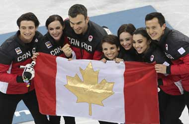 Canada Wins Gold in Figure Skating Team Event