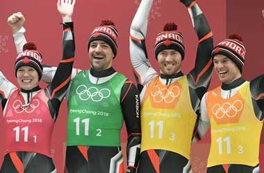Canada earns silver in team relay luge competition