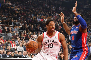 Toronto Raptors Shatter The Pistons 123-94