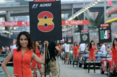Grid Girls Being Phased Out For 2018 F1 Season