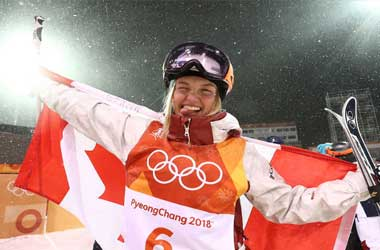 Justine Dufour-Lapointe Wins Silver in Women's Moguls