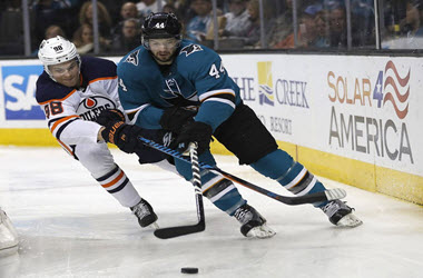 Edmonton Oilers Lose 5-2 to the Sharks