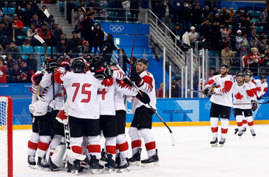 Canadian Men's Hockey Team wins Bronze in Winter Olympic Games