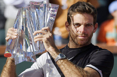Juan Martin del Potro Wins Final Against Roger Federer at Indian Wells
