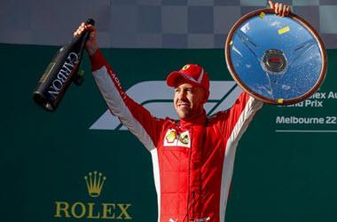 Sebastian Vettel Wins Australian Grand Prix