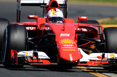 Sebastian Vettel Sets Track Record during Testing at Circuit de Barcelona-Catalunya