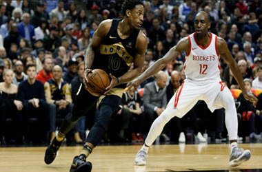 Houston Rockets Winning Streak Comes to an end as Raptors Win 108-105
