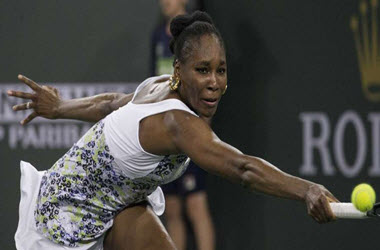 Venus Williams Wins Again Sister Serena at BNP Paribas Open