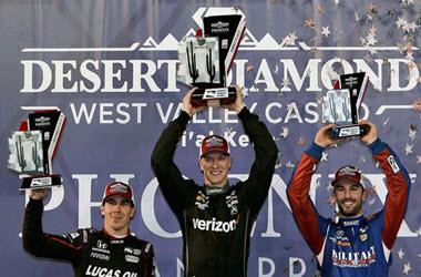 Josef Newgarden Wins IndyCar Race at ISM Raceway