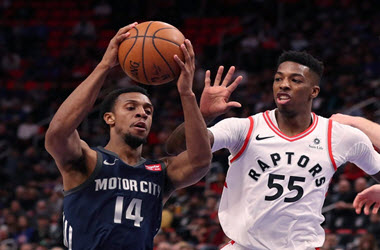 Toronto Raptors Take Win Against Detroit Pistons 108-98