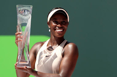 Slone Stephens Wins Miami Open against Jelena Ostapenko in Two Sets