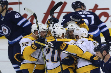 Nashville Predators Tie Up Series 2-2