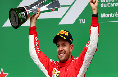 Sebastian Vettel Win Canadian Grand Prix