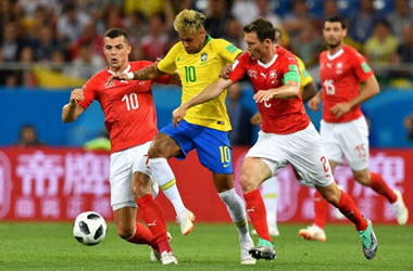 Match Between Switzerland and Brazil Ends in a Draw