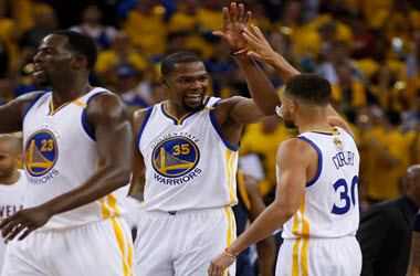 Golden State Warriors Win Game 1 of the NBA Finals