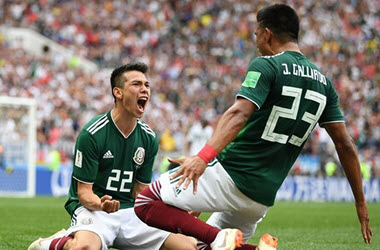 Mexico Defeats Germany in Surprise 1-0 Opener