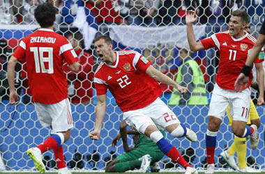 Russia Decimates Saudi Arabia 5-0 in First World Cup Match