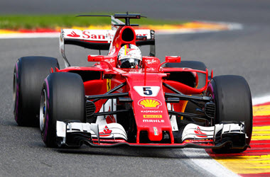 Sebastian Vettel Earns Pole Position at Canadian GP