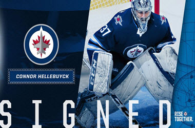 Winnipeg Jets Sign Hellebuyck – Golden Knights Sign Fleury