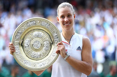 Serena Williams Defeated by Angelique Kerber – Wins first Wimbledon title