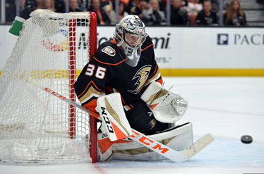 John Gibson Signs Eight-Year Extension With The Ducks