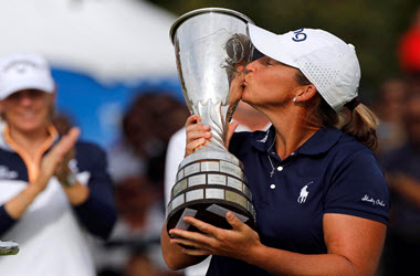Angela Stanford Wins Evian Championship
