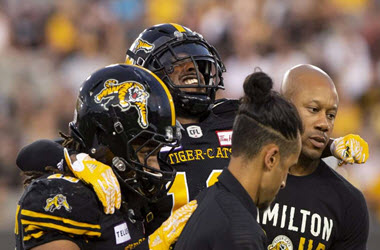 Brandon Banks Out of Ti-Cats Lineup with Groin Injury
