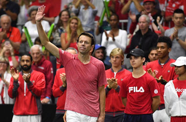 Daniel Nestor Ends Career with Davis Cup Loss