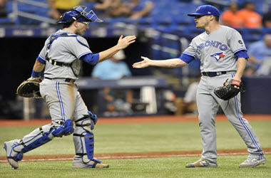 Toronto Blue Jays Rally Past Tampa Bay After 3-run triple