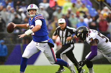 Quarterback Josh Allen to Start for Buffalo Bills Opener