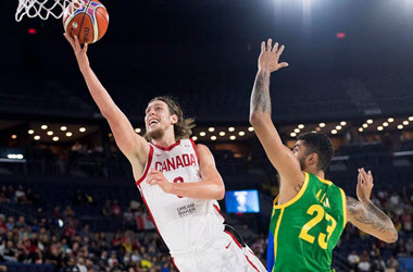 Team Canada Victorious over Team Brazil at FIBA World Cup of Basketball Qualifier