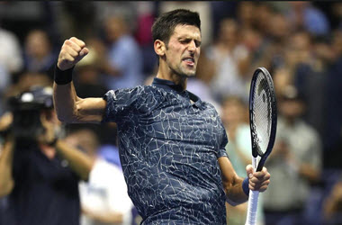 Novak Djokovic Advances to Semifinals at U.S. Open