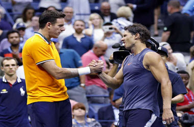 Rafael Nadal Exits Semifinals – del Potro and Djokovic Advance to Men's Final