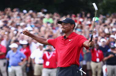 Tiger Woods Wins First Championship since 2013