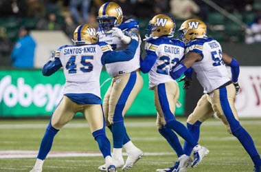 Winnipeg Blue Bombers Defeat Edmonton Eskimos 30-3