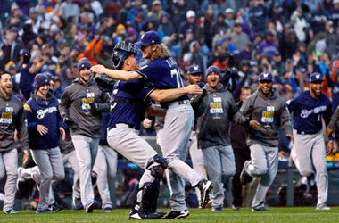 Milwaukee Brewers Sweep Colorado to win NL Division Series